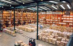 A logistics center