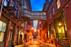 Tribeca Alley of New York