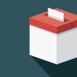 An illustration of a ballot box