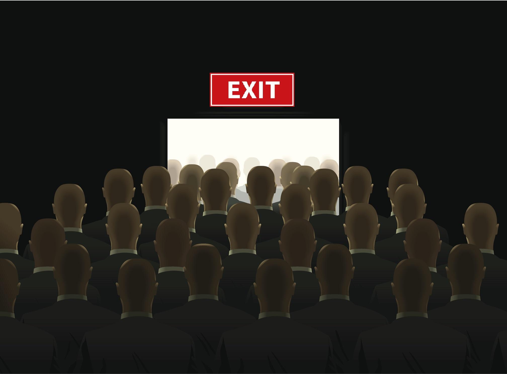 ODCE exit queue