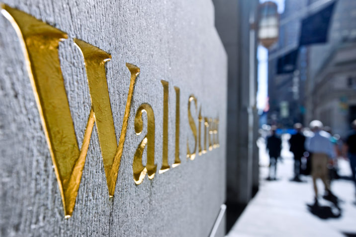 Wall Street, New York, finance, financial district, stock market