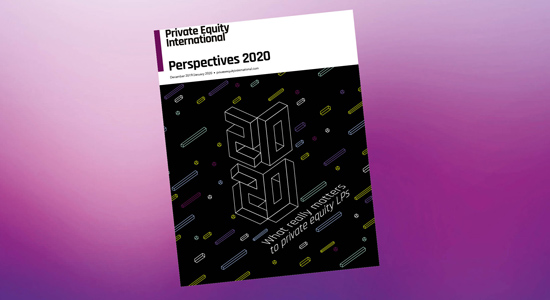 Cover of Perspectives 2020 on a purple background