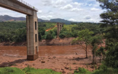 Brumadinho in south-eastern Brazil.