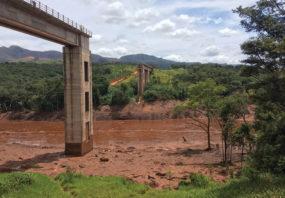 Brumadinho in south-eastern Brazil.