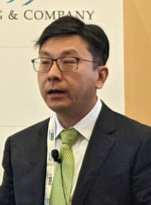 Chris Sun, deputy secretary at the Financial Services and Treasury Bureau, Hong Kong