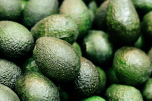 Close up of avocados