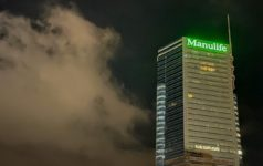 Manulife office in Hong Kong
