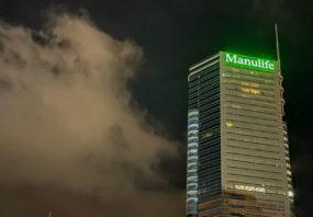 Manulife office in Hong Kong