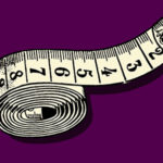 Illustration of a measuring tape