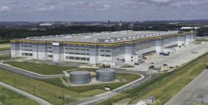 Gliwice Amazon fulfilment center Poland