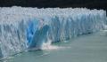 Ice Calving glacier