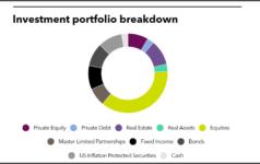 Investment portfolio breakdown of Ohio Police & Fire Pension Fund