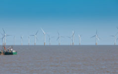 Offshore wind farm is under operation.