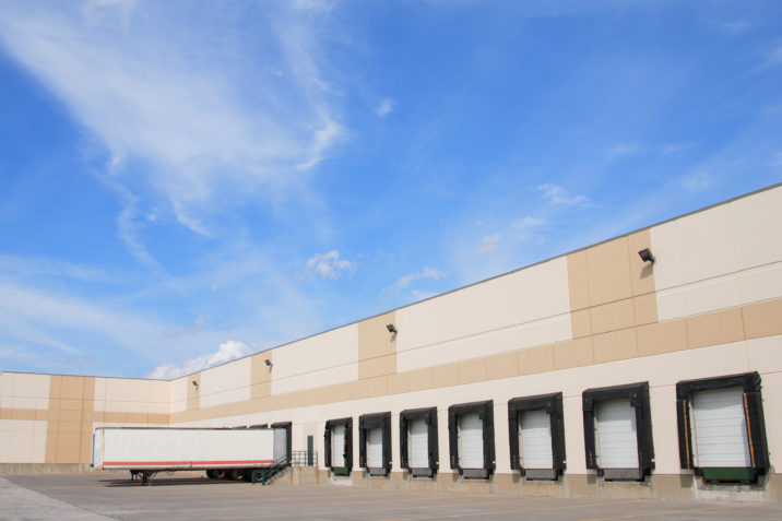 industrial logistics warehouse