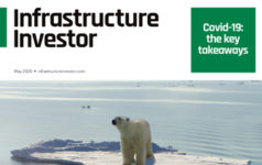 The cover of the May 2020 issue of Infrastructure Investor