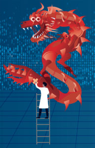 Chinese dragon scientist