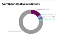 Current alternative allocations of West Japan Machinery Pension Fund