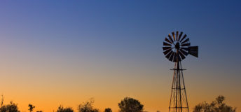 Australia, farm, windmill