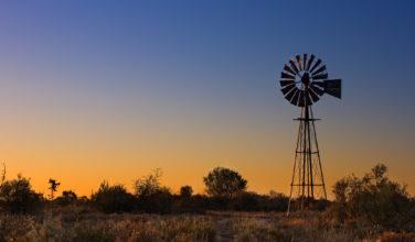 Australia, farm, windmill