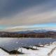 solar power in the snow