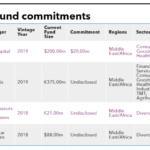 List of Proparco fund commitments