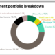 Chart of Taiwan Life Insurance investment portfolio breakdown