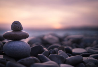 pebbles, beach, rocks meditate
