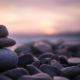 pebbles, beach, rocks meditate