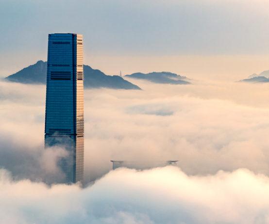 Hong Kong financial centre