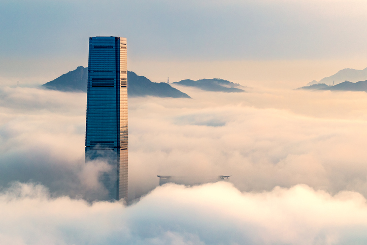 Hong Kong financial centre