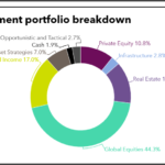 Investment portfolio breakdown of School Employees' Retirement System of Ohio