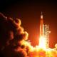 rocket launch space