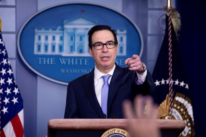 US Treasury Secretary Steven Mnuchin