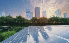 solar energy in a city