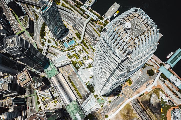 HKMA headquarters in IFC, Hong Kong