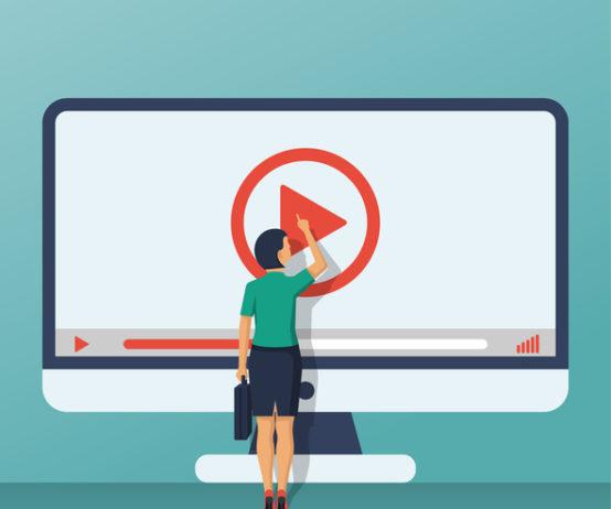 Video tutorial concept