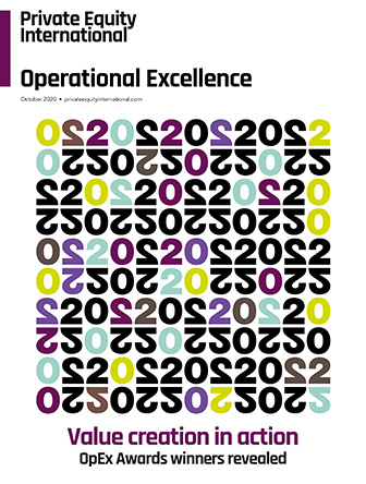 Cover of PEI Operational Excellence Awards magazine