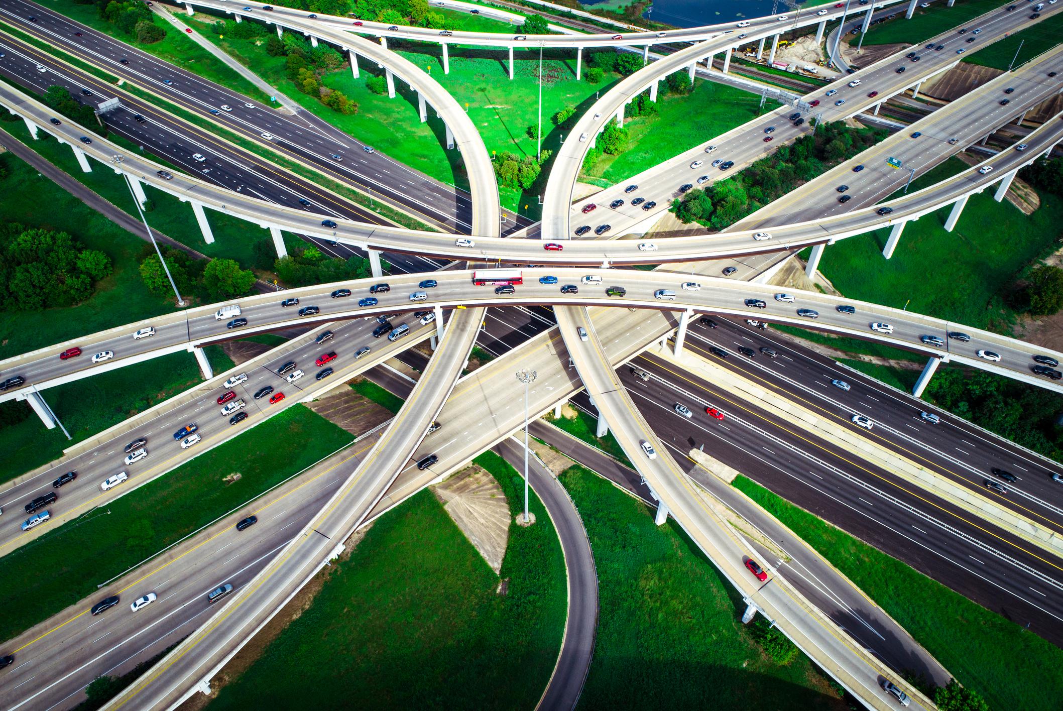US highway, Austin, Texas