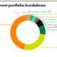 Chart of Dai-ichi Life Insurance Company investment portfolio breakdown