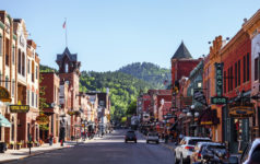 Deadwood, South Dakota, main street, USA