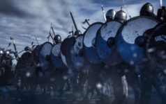 viking attack barbarian knight soldiers