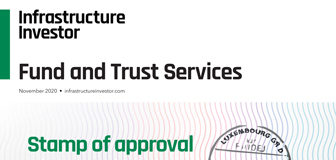 Infra Fund and trust services cover