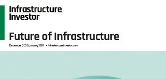 Cover of Infrastructure Investor's Future supplement
