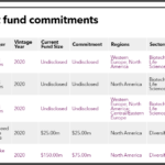 IMRF recent PE fund commitments