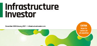 Cover of Infrastructure Investor magazine