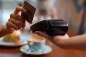 payment, credit card, restaurant