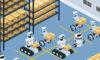 Robots warehouse
