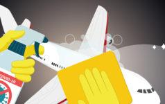 Plane clean
