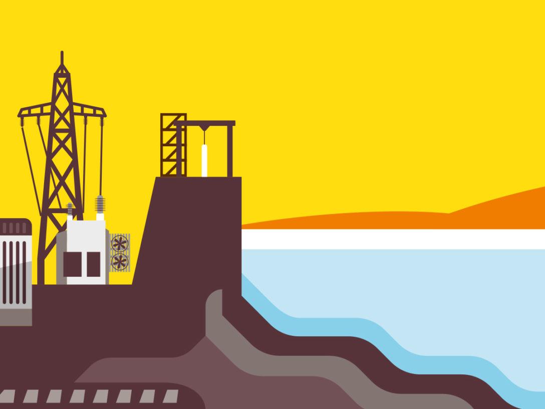 Energy generation illustration