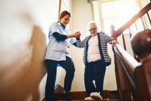 caregiver, senior, home care